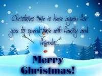KARÁCSONYI KÁRTYA - Karácsonyi kívánságok az eTwinning barátoknak