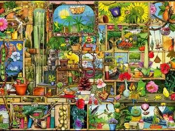 Garden accessories puzzle