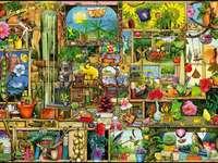 Garden accessories puzzle - Garden accessories puzzle