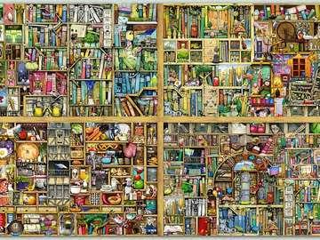 puzzles avec une variété d'éta - Puzzle livre avec différents