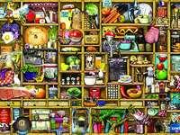 Puzzle - kitchen shelves - Puzzle - kitchen shelves