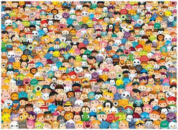 Puzzle with faces and faces - Puzzle with faces and faces, frowney emoji