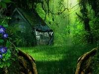 Víkendház az erdőben