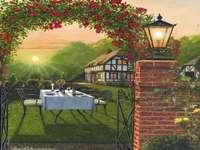 Domek z ogródkiem