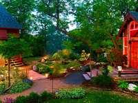 Cottage con giardino