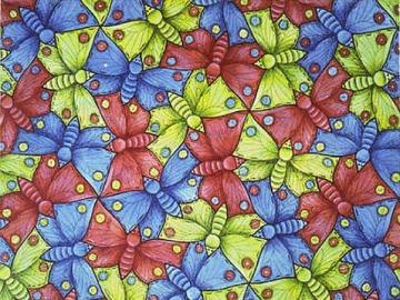 Puzzle avec des papillons - Puzzle avec des papillons