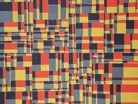 Puzzle abstrait
