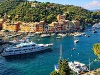 Miasteczko Portofino - Włochy - Miasteczko Portofino - Włochy