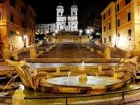 Spanyol lépcsők Rómában