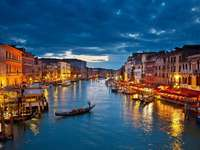 Venecia de noche - Italia