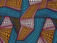 Abstrakcja wzór afrykański