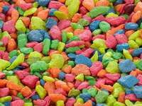 Colorful pebbles like candies - Colorful pebbles like candies