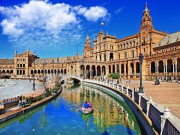 Espagne - Andalousie - L'Andalousie est la plus peuplée et la deuxième en termes de communauté autonome située dan