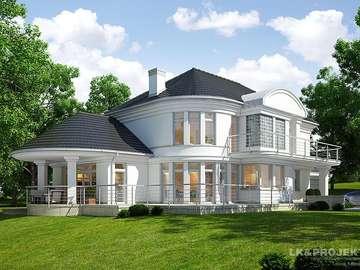 Residenza - domiszcze, prato, bianco