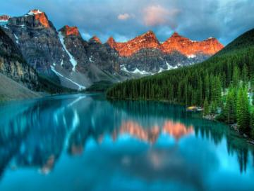 Krajobraz górski - Paysage de montagne