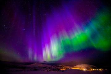 aurora over Norway - aurora, beautiful, sky, colors