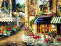 Malarstwo - W pewnym miasteczk