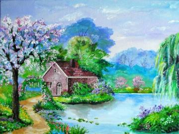 Spring landscape - Landscape - Spring landscape