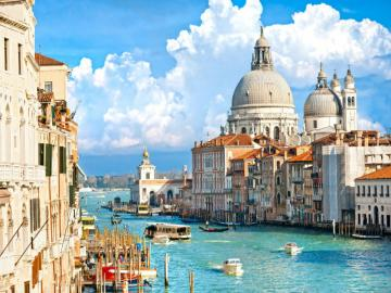 Meravigliosa Venezia - Una città e un comune nel nord dell'Italia sull'Adriatico, la capitale del Veneto. Venezi