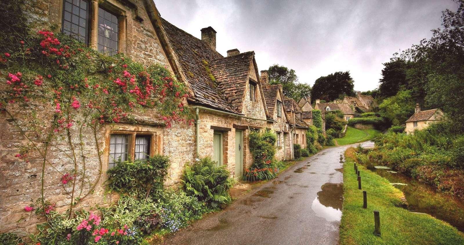Una strada in Inghilterra - Costruzione inglese (10×10)
