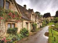 Eine Straße in England