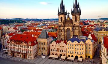 Prague - Czech Republic - Prague is the capital and largest city of the Czech Republic. Located in the western part of the cou