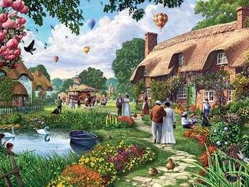 Casa in campagna - Une maison à la campagne
