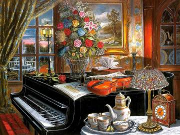 Ein kleines Musikzimmer - Ein kleines Musikzimmer