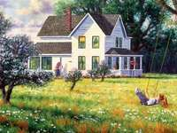 pictură - puzzle puzzle colorat