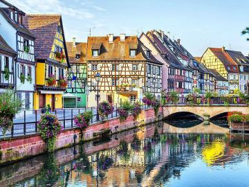 Colmar - miasteczko we Francji - Nie jest może tak popularne jak Paryż, ani tak znane jak Cannes, ale wypada równie dobrze, jeśli