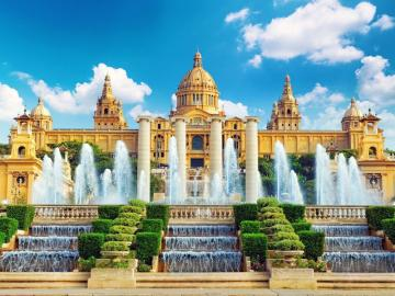 BARCELONA The city of Gaudí - Spain is associated with the beaches of the Costa Brava, royal Madrid, corrida and wine, which pours