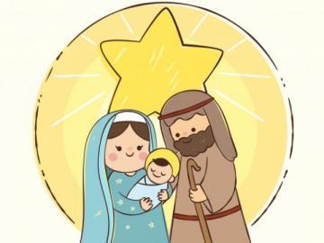 Geburt von Jesus - Religion Puzzle der Geburt Jesu