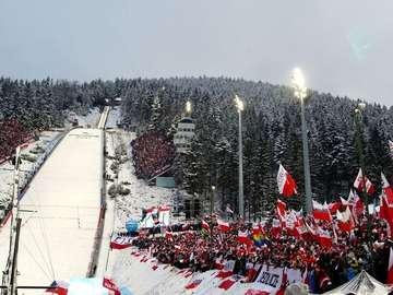 Coupe du monde en saut - Coupe du monde de saut à ski - tenue chaque année, entre novembre et mars, d'une série de co