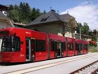 Fermata del tram - puzzle-puzzle colorato