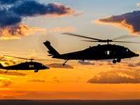 elicotteri - puzzle-puzzle colorato