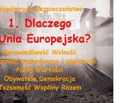 1. Защо Европейският съюз?