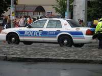 Canadese patrouillewagen
