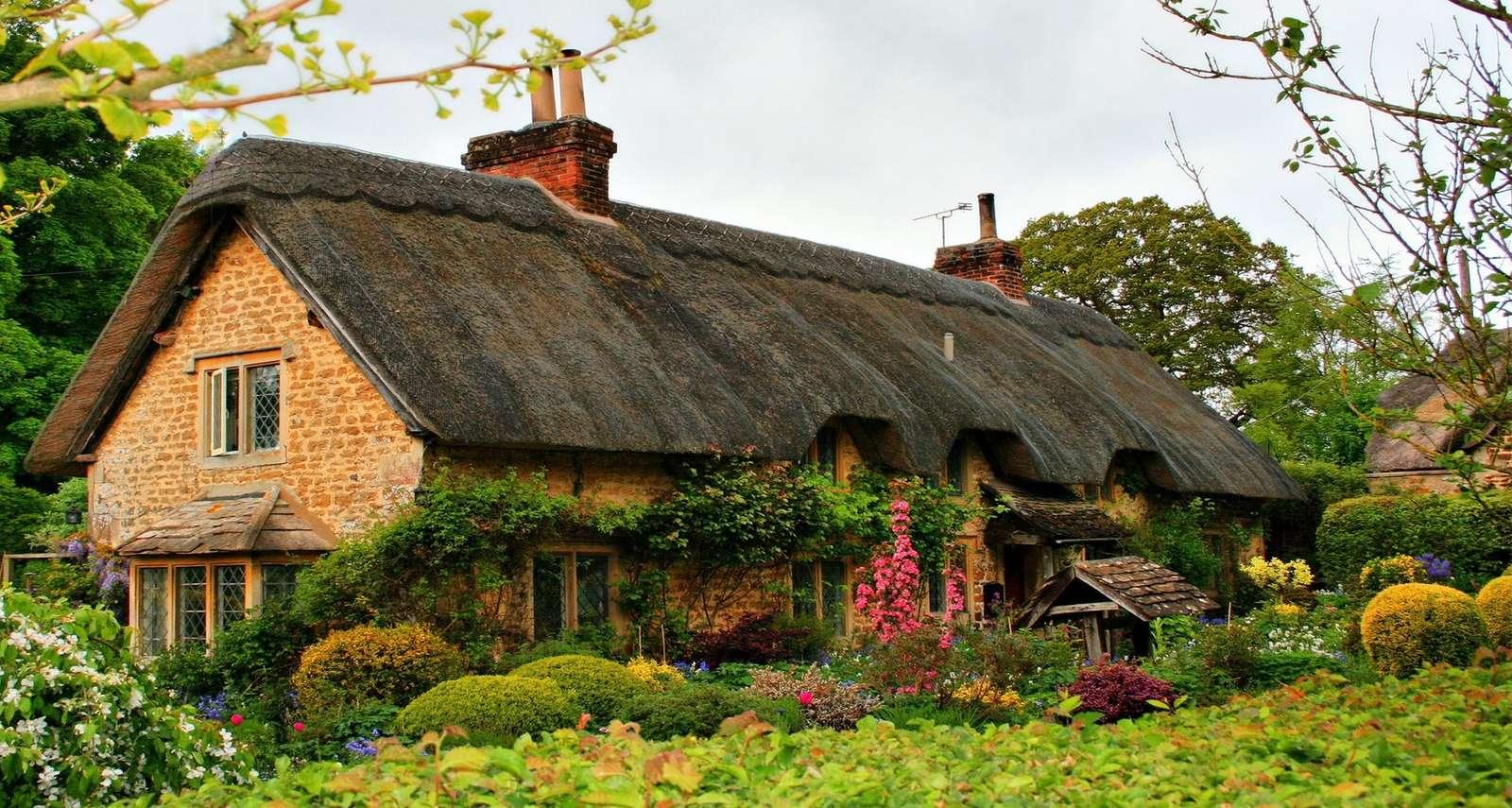 Къща с градина
