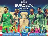EURO-2016 França - quebra-cabeça colorido