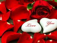 Alla hjärtans pussel pussel