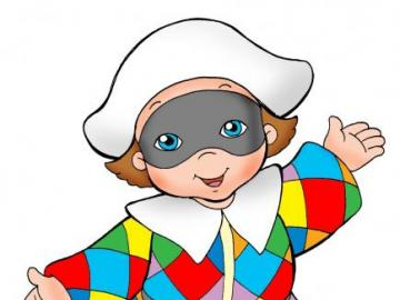Harlequin - harlequin puzzle for children