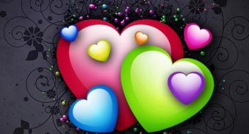Valentine's day puzzle - colorful puzzles