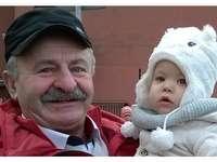 Gucio y abuelo