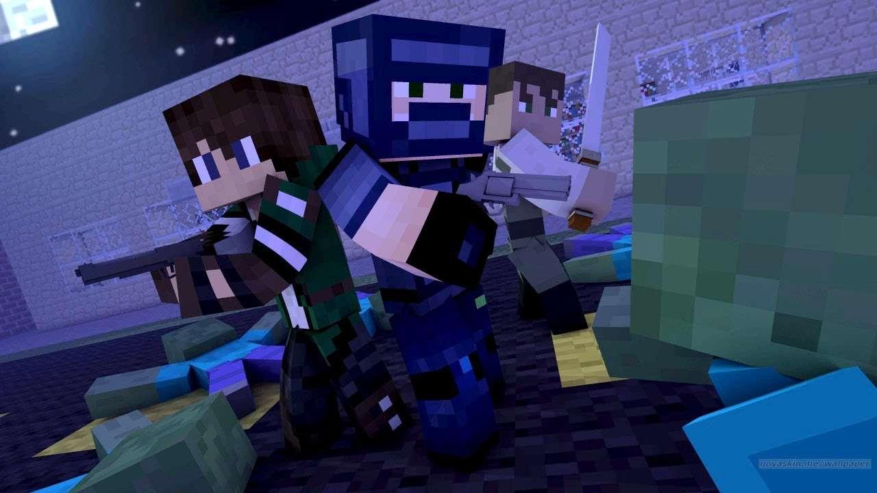 игрова година 12345 - Minecraft roxMB. Готин пъзел игра препоръчвам. хубав грайпъл препоръчвам. Това са мийнкрафт пъзели, на снимката е пок (2×5)