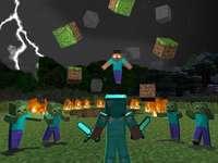Minecraft zombi - gra w minecraft fajna czad
