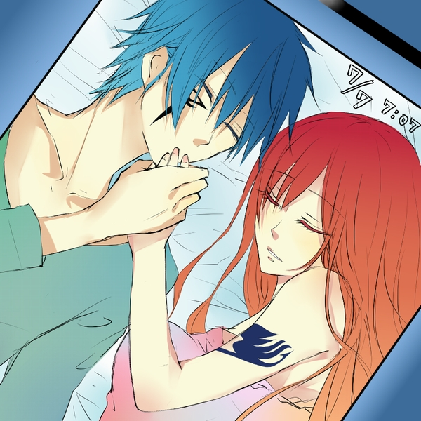 Fairy Tail - Erza Scarlet - Magus S and Jellal Fernandes - Dark Magus