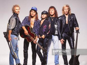 scorpions - in old b and can you say who are?