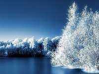 vinter, vinter pussel