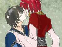Akatsuki no Yona - Yona - princess and heiress to the throne of the kingdom of Kouka and Hak - was the general of the c