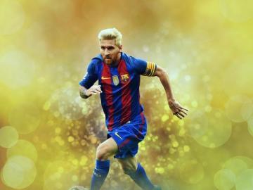 Lionel Messi - Este é o jogador de futebol Lionel Messi